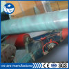 Tubo de combustão de carbono soldado redondo preto / óleo pintado