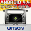 Toyota 땅 Cruiser 100 (W2-A7071)를 위한 Witson Android 4.4 System Car DVD