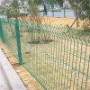 Rete fissa saldata ricoperta PVC della rete metallica della curva