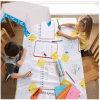Drenaje de los cabritos en mantel de papel disponible laminado el PE