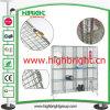16 armarios de almacenaje del acoplamiento de alambre de acero de las puertas