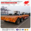 de 2lines 4axles 40-60tons do caminhão de Lowboy Lowbed baixo da base reboque Semi