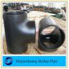 バットによって溶接される継ぎ目が無い管付属品Sch40の炭素鋼のティー