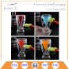 Taza de consumición tirada vodka de cristal del partido de la barra de la taza
