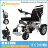 Sedia a rotelle elettrica pieghevole leggera della batteria di litio con il motore senza spazzola 250W