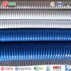 Material corrugado PVC da câmara de ar da sução e de sução do PVC da mangueira da descarga