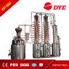 Serbatoio di distillazione del commestibile dell'acciaio inossidabile del commestibile