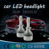 indicatore luminoso di striscia automatico dell'automobile LED della lampadina H4 di 4000lm LED