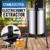 4/8 extracteur électrique de miel de fileur d'acier inoxydable de l'apiculture de bâti