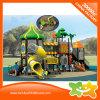 Corrediça de dois andares ao ar livre do parque de diversões da série da árvore da natureza para miúdos