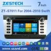 Coche DVD GPS del tablero de instrumentos de la fábrica de Zestech para Suzuki 2004-2010 rápido