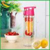 bottiglia di acqua infusa Eco-Amico riutilizzabile 750ml per il regalo di promozione (BPA liberamente)