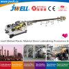 Jwell-Melted Extrusion directe en matériau plastique de calandrage Making Machine Machines conçues pour l'usine pétrochimique