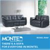 Sala de estar moderna poltrona reclinável sofá, poltrona reclinável, Sofá-Conjunto de móveis