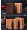 Batería de madera de la potencia de la insignia de encargo promocional agradable del diseño
