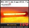 12 indicatori luminosi interni del parabrezza dell'automobile dello stroboscopio del LED