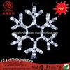 Luz de Natal do floco de neve do diodo emissor de luz para decorações da árvore