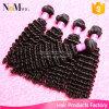 卸し売り市場の安い5A等級のマレーシアの巻き毛のバージンの人間の毛髪(QB-MVRH-DW)