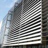 Abertura e persiana de alumínio para estrutura de proteção externa