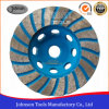 105mm Diamond Turbo Cup Wheel pour le meulage de pierre