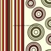100%Polyester de Afgedrukte Stof van de cirkel Pigment&Disperse voor de Reeks van het Beddegoed