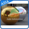 Aerostato gonfiabile gigante stampato dell'oro dello specchio per la decorazione