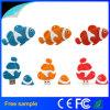 만화 PVC 물고기 모양 선물 USB 2.0 Momory 지팡이