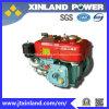 Arrefecido a ar horizontal Motor Diesel de 4 Tempos R170b com a norma ISO9001/ISO14001