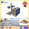 Экономичная машина маркировки лазера волокна CNC портативная пишущая машинка для пластмассы