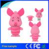 Regalo promocional cerdo Rosa preciosa unidad Flash USB