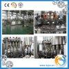 Pequeña planta automática de la máquina de rellenar del agua de Capactiy para la botella de cristal