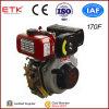 5 CV motor diésel con silenciador estándar