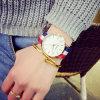 Reloj ocasional de los amantes de la correa de nylon de lujo de la marca de fábrica del reloj de los deportes de la manera