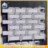 Каменной мозаики плиткой белого полированного оптовая торговля