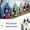 개 고양이를 위한 반대로 곰팡이 6 색깔 애완 동물 집