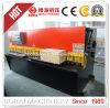 Máquina de corte hidráulica de corte hidráulica da placa de aço da máquina QC12y 6X4000
