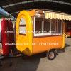 Carro modificado para requisitos particulares móvil de la venta del helado con el CE (ZC-VL888-1)