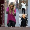 Camicetta casuale di modo dei manicotti dei vestiti della camicia lunga europea delle donne (TONY6818)