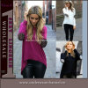Européenne Long Sleeves Vêtements Femme Chemise Casual Fashion Blouse (TONY6818)