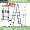 1 Telescopic Ladder 3.8m에 대하여 2