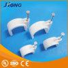 Caja de plástico embalajes de uñas Círculo Abrazadera de cable, cable coaxial la abrazadera