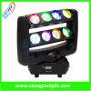 Le nouveau DJ Stage Lighting 8PCS*10W RGBW DEL Moving Head Spider Light