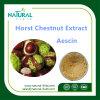 Extrait normal de poudre de marron d'Inde de 100%, Aescin 20%, CHROMATOGRAPHIE LIQUIDE SOUS HAUTE PRESSION de 40%