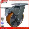 Fußrollen-Räder Gesamtbremsen-der Hochleistungsschwenker-Laufkatze-6