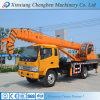Calidad confiable ce CCC ISO 5 toneladas pluma hidráulica móvil usada Mini Camión grúa con ganchos dobles