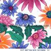 Tela da impressão 80%Polyamdde 20%Elastane das flores para o Swimwear