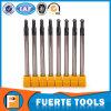 Personalizar la herramienta de máquina de carpintería final molino con bola de cono de nariz