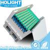 D'ODF 96 de faisceau de glissière vue de distribution optique de montage sur bâti de tiroir à l'extérieur