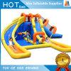 Partie de la bâche de protection gonflables de jouets de location de la diapositive avec piscine