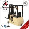 Elektrischer Gabelstapler der neuesten Fabrik-Preis-Minirad-1t drei